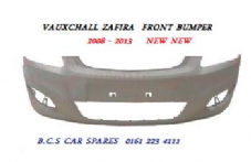 VAUXHALL ZAFIRA B  FRONT BUMPER  FACELIFT    2008 - 2014   NEW  NEW   ( IN PRIMER )